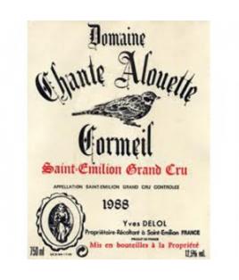 Domaine Chante Alouette Cormeil 1984