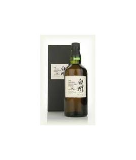 Whisky Hakushu 25 ans