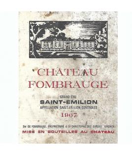 Chateau de Fombrauge 1967
