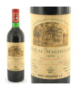 Chateau Magdelaine 1970