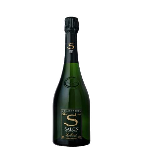 """Champagne Salon 1997 """"Sensualité de soie"""""""