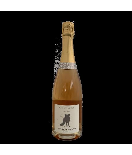Champagne Brut Rosé La Flatteuse