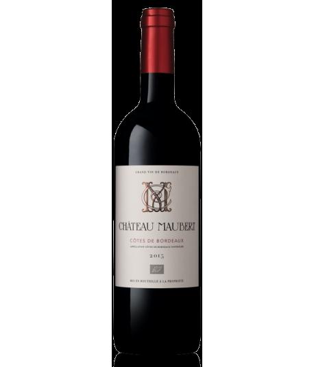 Château Maubert 2015 - AOC Côtes de Bordeaux BIO